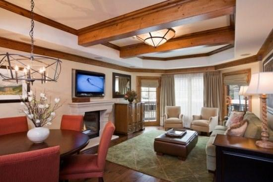 Living area - The Willows in Vail Village - Vail - rentals