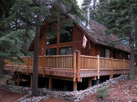 Wooden cabin - Wooden classy & cozy cabin in the Pines, 3 beds - Carnelian Bay - rentals