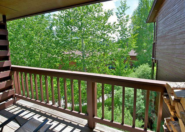 Deck - 452_Snow King Loop - Conveniently located to the Jackson Town Square! - Jackson - rentals