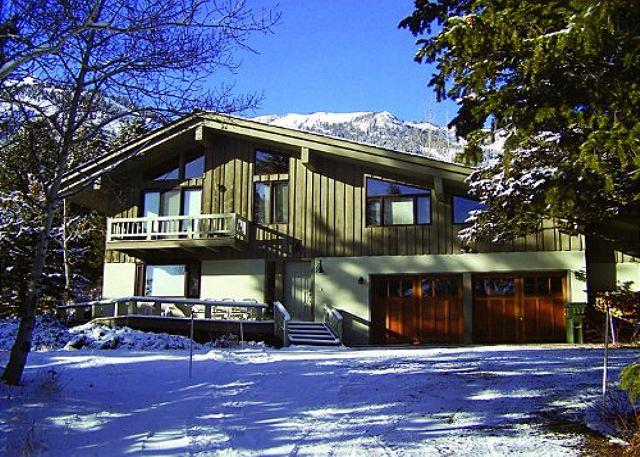 7255 Rachel Way exterior - Clymer_House - Great Location in Teton Village for your Family - Teton Village - rentals