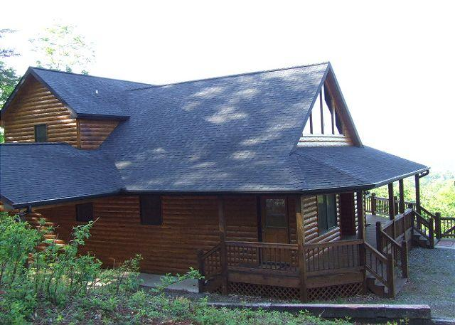 LOOKOUT LODGE - YOU WILL BE ASTOUNDED BY THE MOUNTAIN VIEW FROM LOOKOUT LODGE - Mineral Bluff - rentals