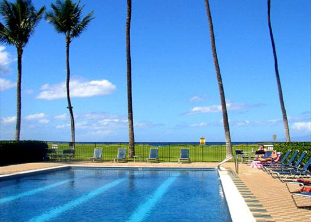 Waiohuli Beach Hale #110 2B/2B. Ocean Views! Sleeps 4. $159 SUMMER SPECIAL! - Image 1 - Kihei - rentals