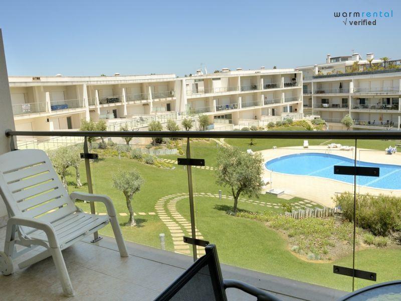 Balcony  - Grinding Apartment - Olhos de Agua - rentals