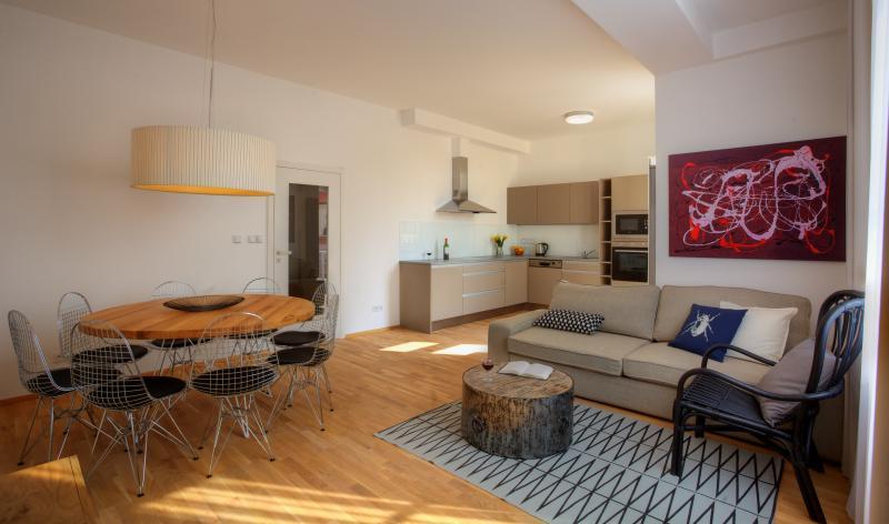 Three-Bedroom Balcony Apartment - Three-Bedroom Balcony Apartment - Prague - rentals