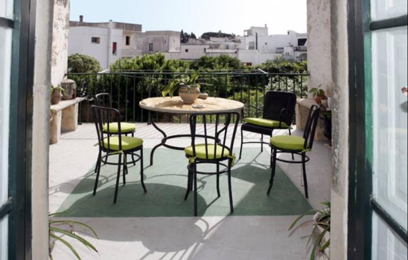 Furnished veranda - Palazzo Poggiardo - Poggiardo - rentals