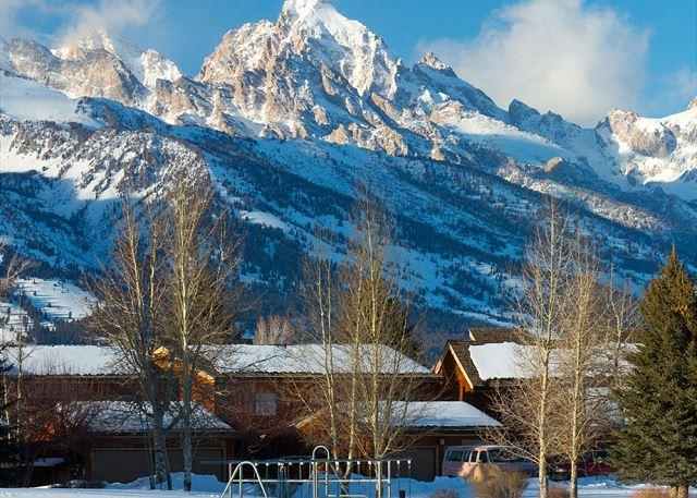 View of the Grand Tetons from Teton Shadows - Darwin E - Close Proximity to Grand Teton National Park! - Jackson - rentals