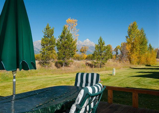 View from Deck - Granite A - A Gem in Teton Shadows! - Jackson - rentals