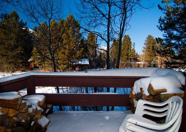 View From Balcony - 621 Tamarack - Enjoy Jackson Hole from this conveniently located unit! - Wilson - rentals