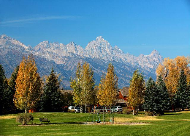 View from Teton Shadows Common Area - Wister A - Great Location for you Jackson Hole Vacation! - Jackson - rentals