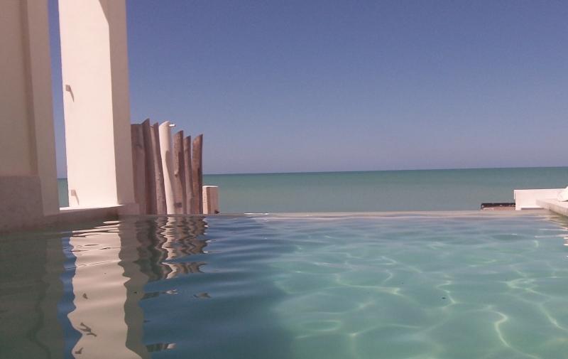 Simplicity of beach life! - Beachfront w/ Infinity Pool - Chuburna - rentals