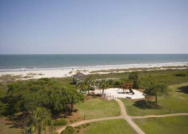 Balcony View - One of Most Incredible 2BR/2BA Villas on Hilton Head Magnificently Remodeled - Hilton Head - rentals