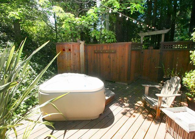 Stunning Cottage in the Forest! Hot Tub,Hammock, Outdoor Shower, Huge Deck! - Image 1 - Cazadero - rentals