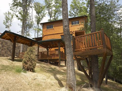 Swing/Treehouse - Campfire Memories - Sevierville - rentals