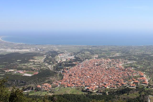 Litochoro village, mountain view - Cozy apartments in Litochoro, Mount Olympus, - Litochoro - rentals
