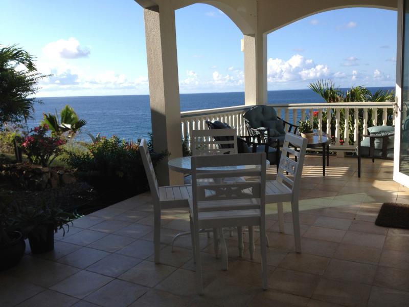 Covered porch - RedHawk Cottage - Saint John - rentals