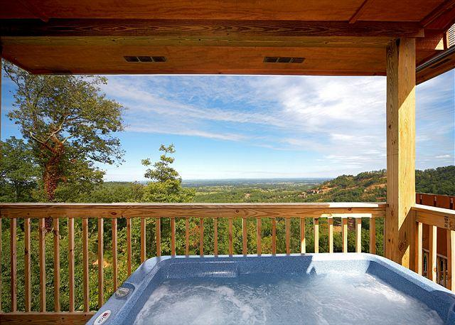 "Incredible Views from Your Private Hot Tub - Log Cabin w/ Hot Tub, Pool Table, 60"" TV, WiFi, & Views. You will LOVE it! - Sevierville - rentals"