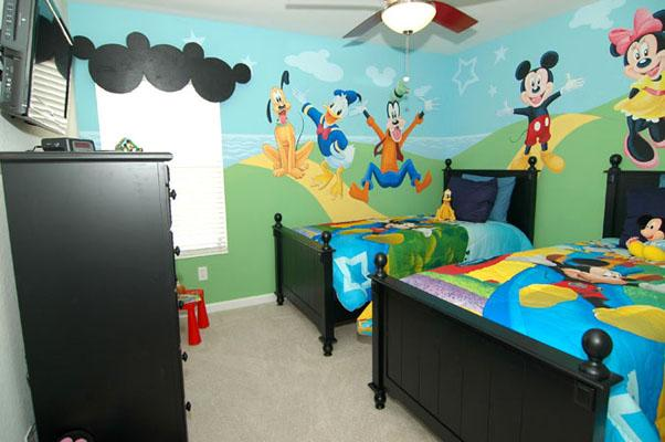 Twin Room -- Mickey & Friends - Themed Rooms, 3miles to Disney - Kissimmee - rentals