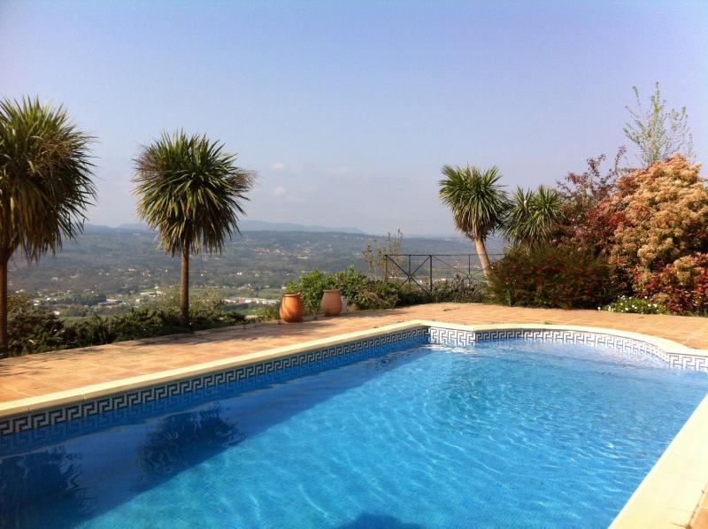 Pool - Montauroux Villa with Panoramic  Views, France - Montauroux - rentals