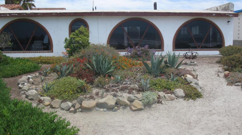 Beach front of house - Beach Front/ incredible views/, property Ensenada BC - Ensenada - rentals