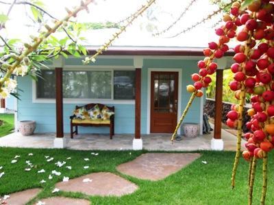 your front entrance - Nancy's Kailua Cottage Makai - Kailua - rentals