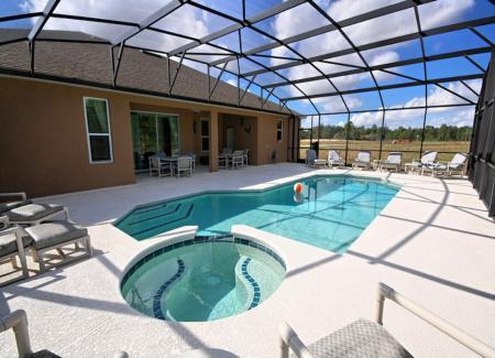 Huge Pool Deck - Brand New Stylish Home Overlooks Conservation Area - Davenport - rentals