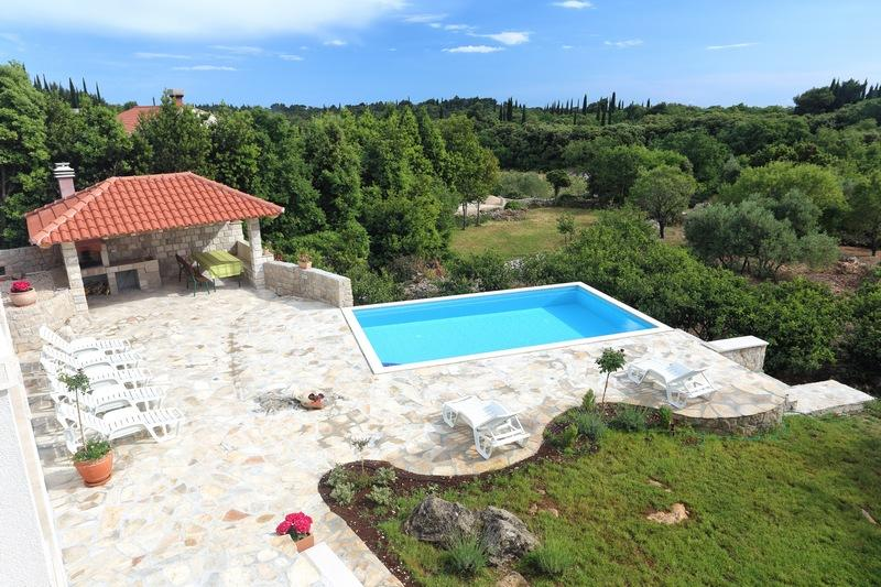 Villa Sun -  with pool and full privacy - Image 1 - Cilipi - rentals
