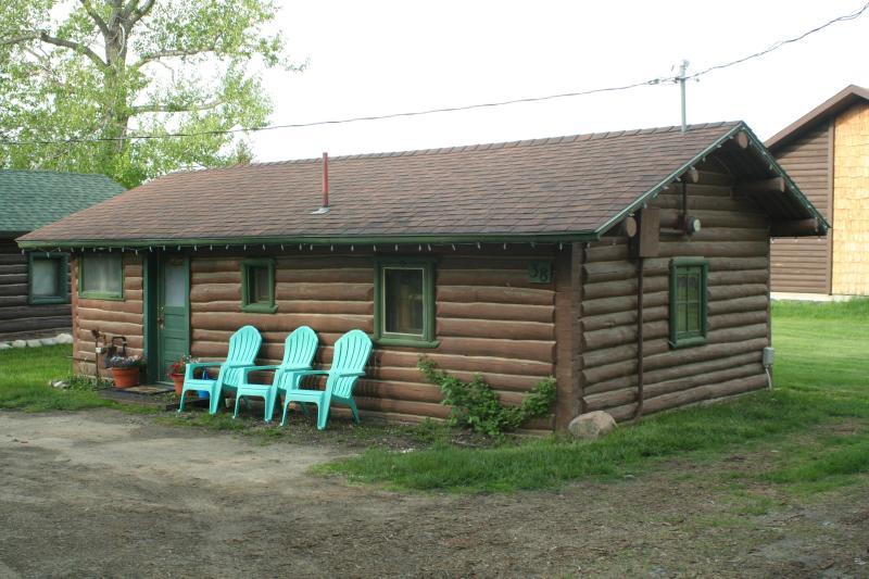 Entrance to Montana Moose Cabin - Montana Moose Cabin - Red Lodge - rentals