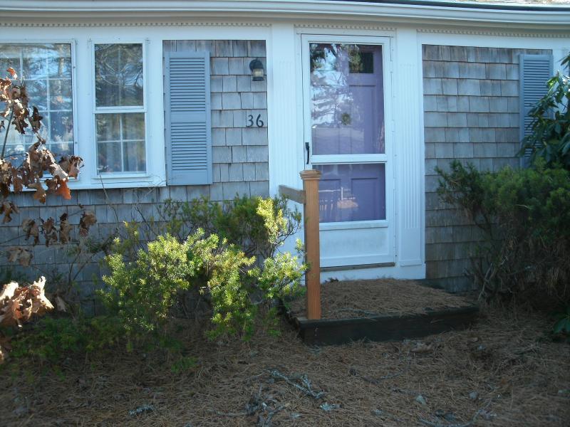front door - spiffy summer house - Dennis Port - rentals