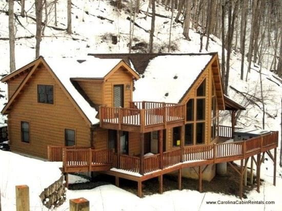 Twin Hollows Wonderful Front View as You Arrive - Twin Hollows - Boone - rentals