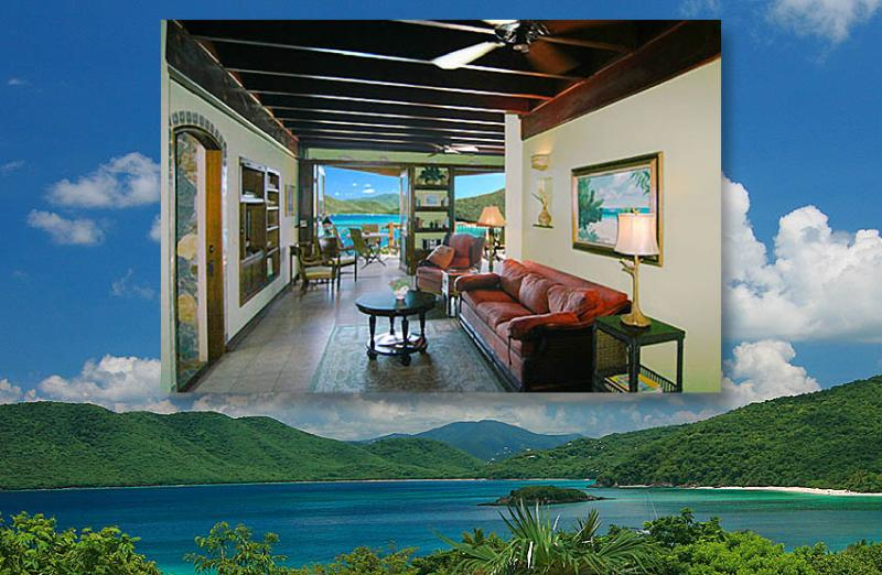 The PB Honeymoon Suite, surrounded by pristine beaches & bays, is a new Suite St. John 1BR villa! - Peter Bay Gatehouse Honeymoon Suite - Saint John - rentals