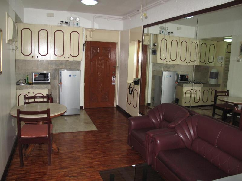 Living Room - Centrally Located 1Br. Apartment Makati (1103) - Makati - rentals