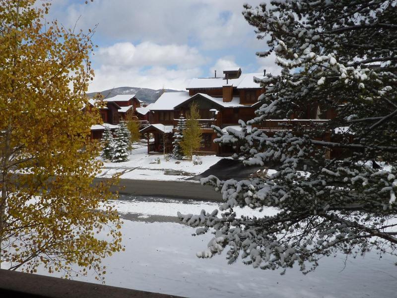 View from condo personal balcony - Heart of Frisco Condo - Frisco - rentals