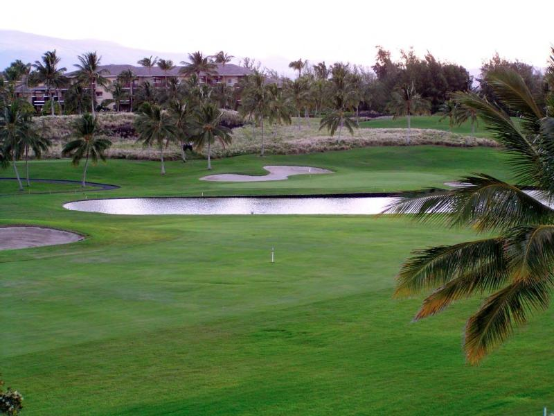 Golf course view from the lani - Spacious 2 Bed/2 Bath Unit w/ Loft on Golf Course - Waikoloa - rentals