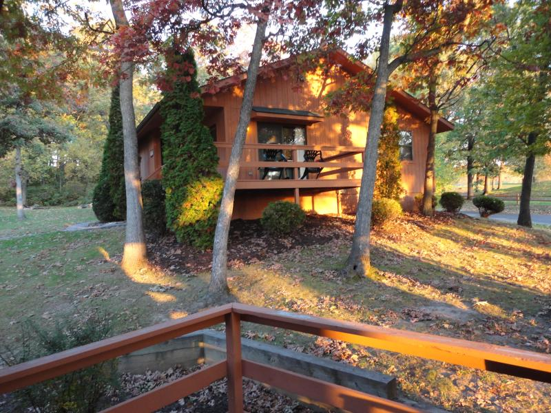 Cottage...Cabins are similar but with log siding - Christmas Mountain, Wisconsin - Wisconsin Dells - rentals