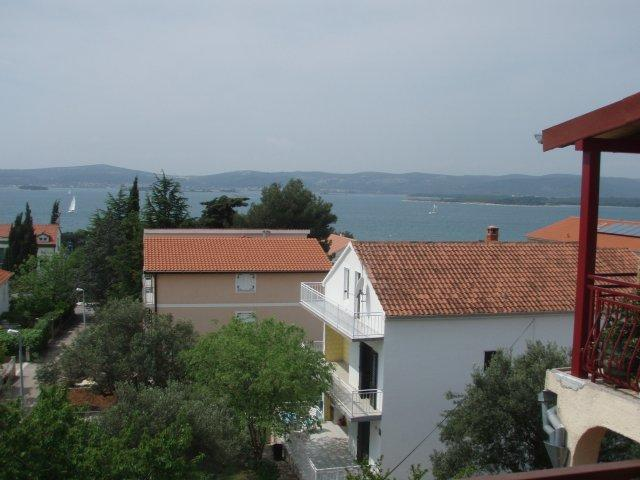 View from balcony - Ocean View apartment with large balcony - Sv. Filip i Jakov - rentals