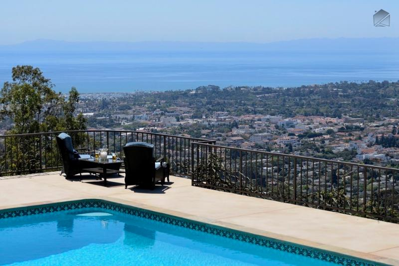 Views like this are usually reserved for royalty. - It'll sweep you off your feet - Cuatro Vientos - Santa Barbara - rentals