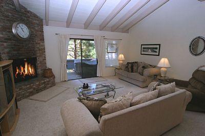 Living Room - Mountain Shadows 240 - Incline Village - rentals