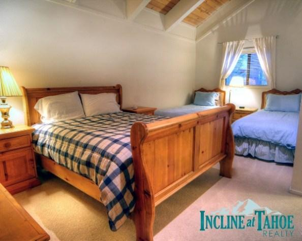 Bedroom 4 - Alpine Terrace 24 - Incline Village - rentals
