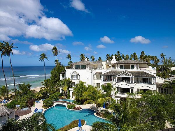 Schooner Bay 303 at Speightstown, Barbados - Beachfront,  Pool - Image 1 - Speightstown - rentals