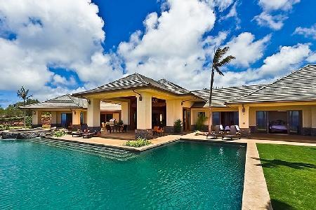 Horizon of Gold - Spectacular Ocean View Villa on 4 Acres within Golf Community - Image 1 - Maui - rentals