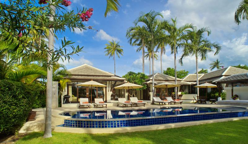 Villa 10 - Great Value Beach Front Villa with Pool - Image 1 - Koh Samui - rentals