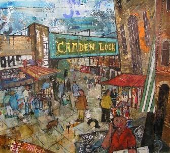 The Famous Camden Lock Market - *** BEAUTIFUL LONDON NW1*** 3 BEDROOM, 2 BATH WIFI, TV, DVD, 5 MIN TUBE TO KINGS CROSS - Islington - rentals
