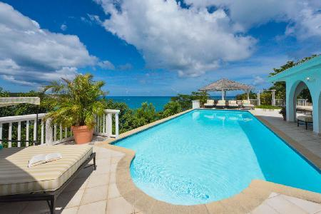 Pointe Des Fleurs - Villa with pool, panoramic views & access to secluded beach - Image 1 - Terres Basses - rentals