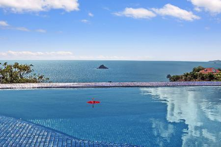 Stunning Vague Bleu Villa offers a jetted tub, infinity pool & free Suzuki rental - Image 1 - Lurin - rentals