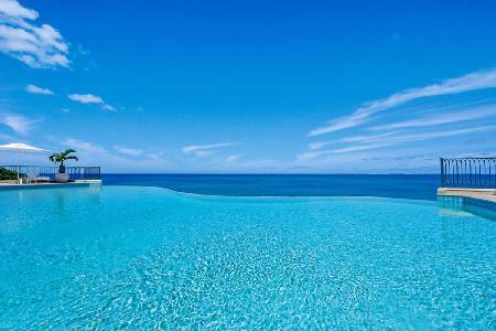 Waterfront La Dacha Villa - Cliffside  - Infinity Pool, Gardens, Gym - Image 1 - Terres Basses - rentals