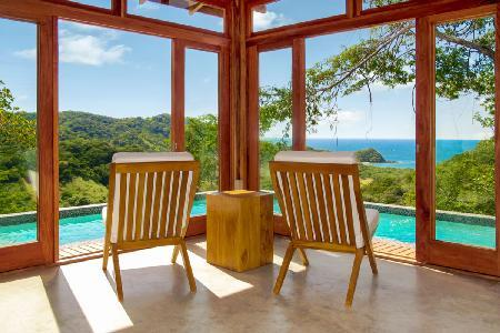 Eco-friendly Villa Seis with wraparound infinity edge plunge pool and ocean views - Image 1 - Guanacaste - rentals