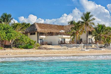 Hacienda Paraiso - Beachfront Home with Private Terraces, Air Conditioning, WiFi - Image 1 - Tulum - rentals