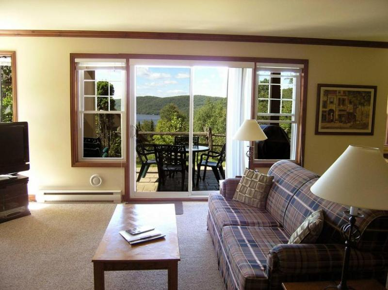 Living room (open concept) Amazing views - Mont Tremblant Condo - Mont Tremblant - rentals