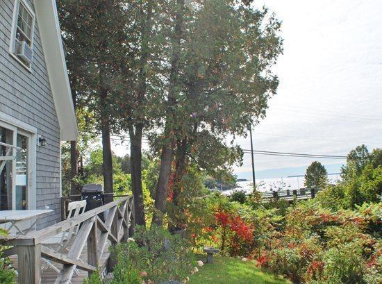 Harbor Light Cottage looks out over Rockport Harbor with nice ocean views - HARBOR LIGHT COTTAGE - Town of Rockport - Rockport - rentals