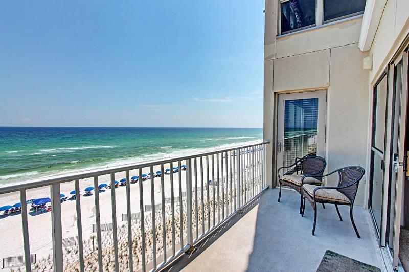 Emerald Towers West #5000-AVAIL 8/1-8/8! GulfFRONT CORNER-Okaloosa Island! Book Online! - Image 1 - Fort Walton Beach - rentals